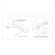 Thermocouple de peau rétractable - Prisma