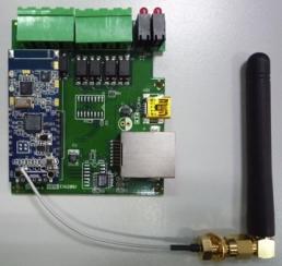 EX9000RF-DIO    RF à RS232/485 avec DIO - Prisma
