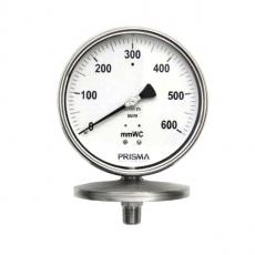 Manomètre à membrane basses pressions - Prisma